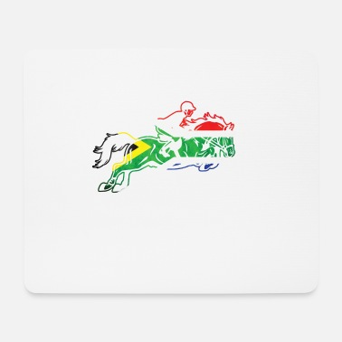 Africa South Africa horse - Mouse Pad