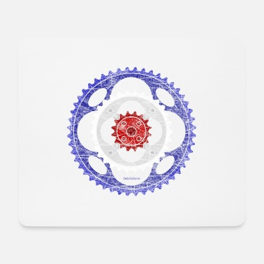 Target Mod Sign for Bikers - Vintage Edition - Mousepad