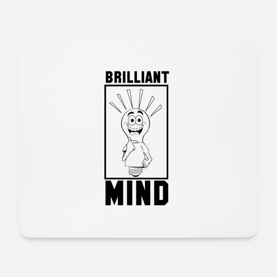 Reason Mouse Pads - Brilliant memory - Mouse Pad white