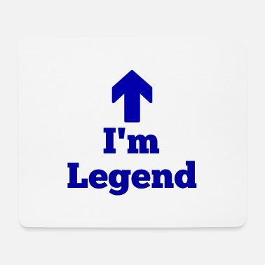 Legends I'm legend,legende - Mousepad