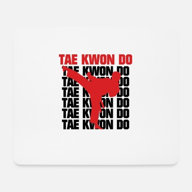 Taekwondo Scrittura Taekwondo, Taekwondo, Taekwondo - Tappetino mouse