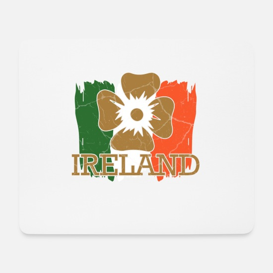 Gift Idea Mouse Pads - Ireland Dublin Gift Irish Catholic - Mouse Pad white