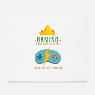 Funny Funny video games controller console gift - Mouse Pad