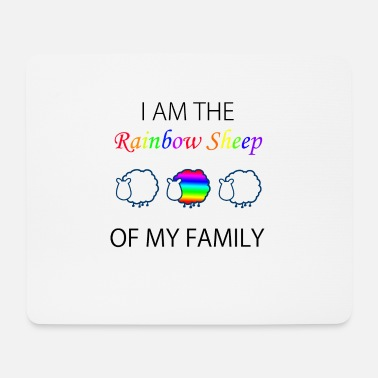 Gay Marriage Gay gift gay LGBT gay marriage rainbow - Mouse Pad