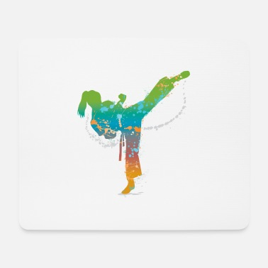 Aikido Martial art - Mouse Pad