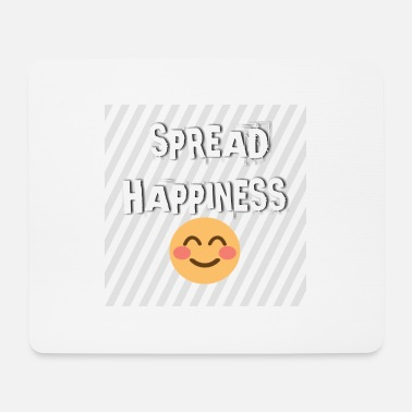 Happiness Spread happiness - Tapis de souris (format paysage)