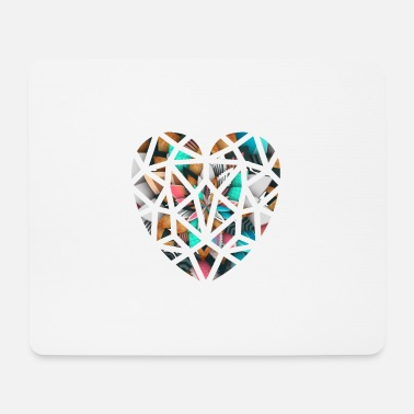 Heart design - Mouse Pad