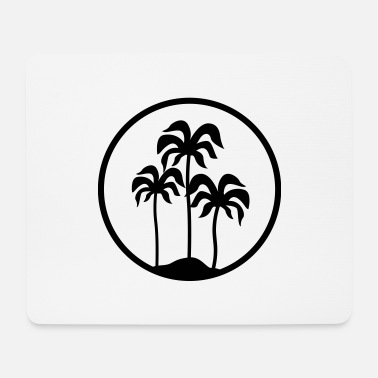 Palm Trees palm trees - Mouse Pad