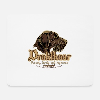 Gwp drahthaar_head - Mouse Pad