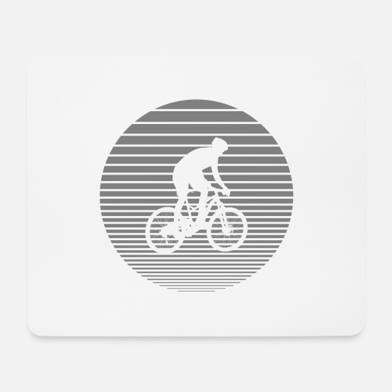 Downhill Mouse Pads - Downhill - Mouse Pad white