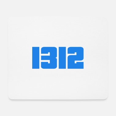 1312 lettering gift - Mouse Pad