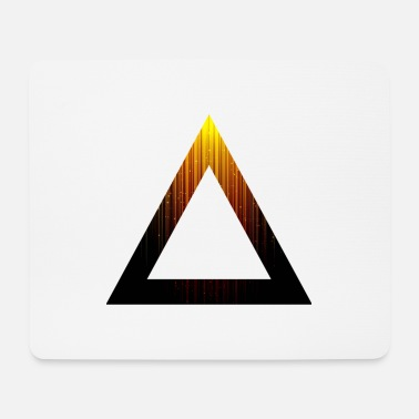 Abstract Abstract Triangle - Mouse Pad