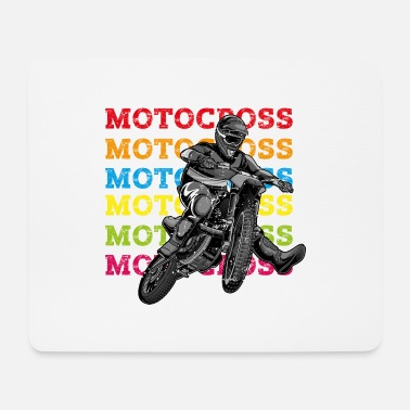 Motorismo motocross - Tappetino per mouse (orizzontale)