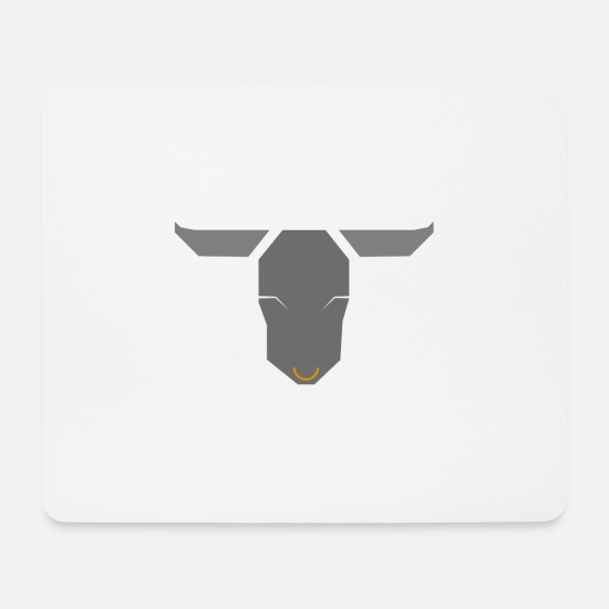 Torero Mouse Pads - bull - Mouse Pad white