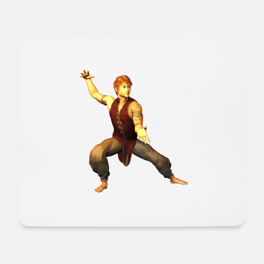 Karate MARTIAL ARTS TRAINING FIGURE 39 - Mousepad (bredformat)