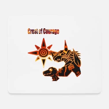 Crest Crest of Courage - Mousepad