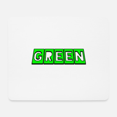 Green Green - Mouse Pad