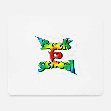Old School Old school back to school - Mouse Pad