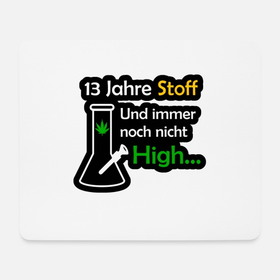 High School Graduate Mouse Pads - 13year substance Kiffen high school diploma - Mouse Pad white