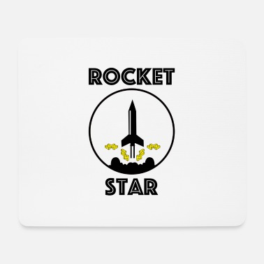 Start Rocket Star - Mousepad (Querformat)