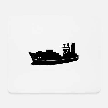 Freighter A freighter for the economy - Mouse Pad