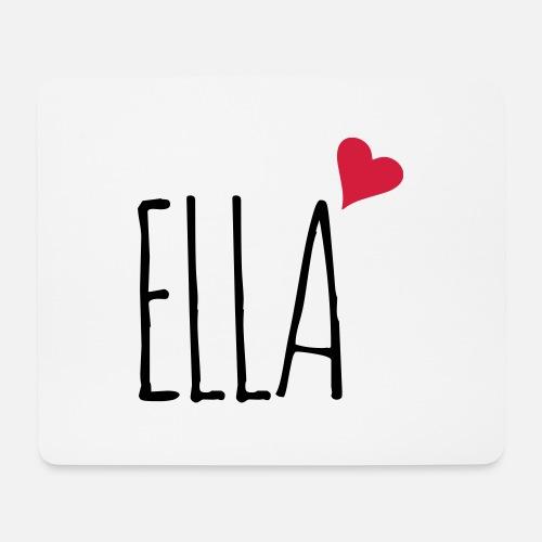 ba0c63ac032e14 Ella love heart gift Mouse Pad
