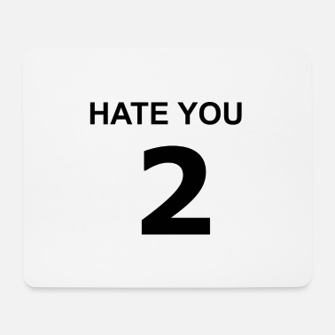 Cards Hate you 2 - Mousepad (Querformat)