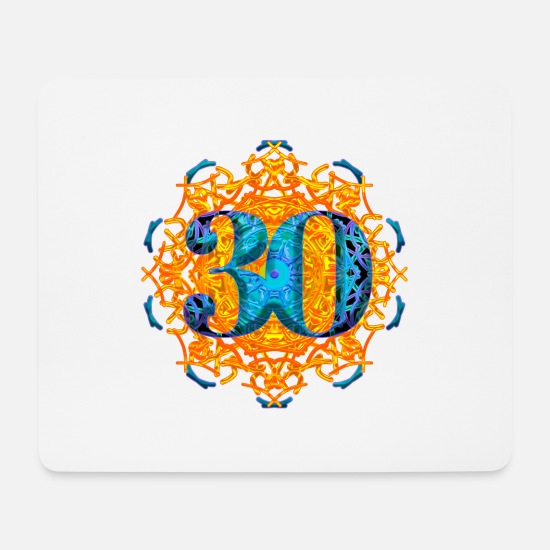 Birthday Mouse Pads - 30 years young - Mouse Pad white