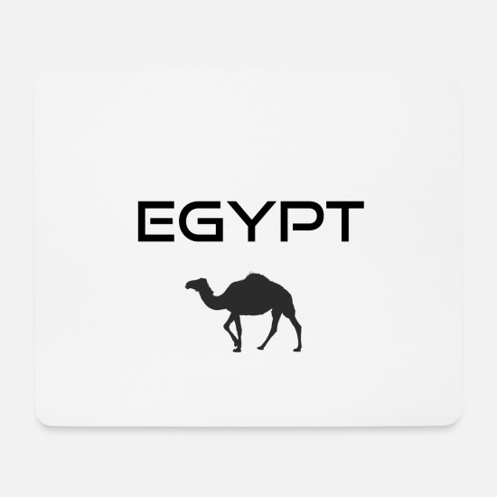 Sphinx Mouse Pads - Egypt camel - Mouse Pad white