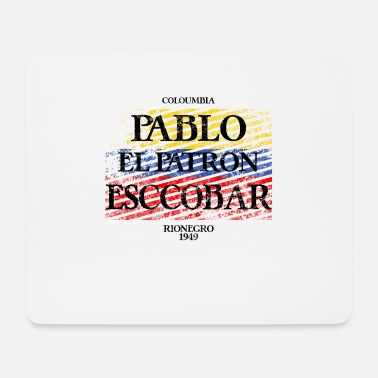Birthdate Pablo Escobar Birthdate - Mouse Pad