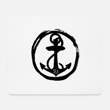 Seas Sea - anchor anchor - sea - sea - Mouse Pad