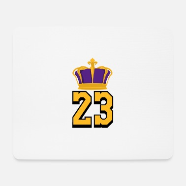 Lebron Basketball Number 23 LeBron James - Mouse Pad