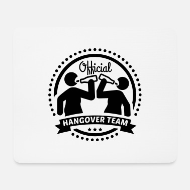 Team official_hangover_team_f1 - Mouse Pad