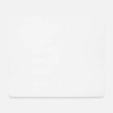 anti social social club - Mouse Pad