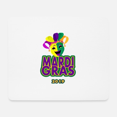 Festivals Mardi Gras 2019 Funny tShirt for Women Men - Mouse Pad