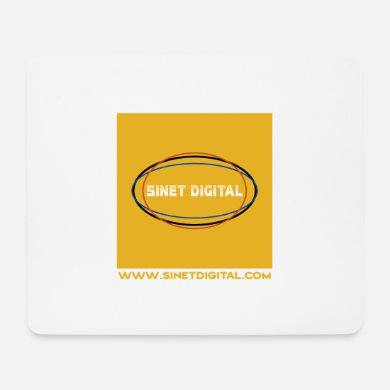Digital Mousepads  - SINET DIGITAL - Mousepad Weiß