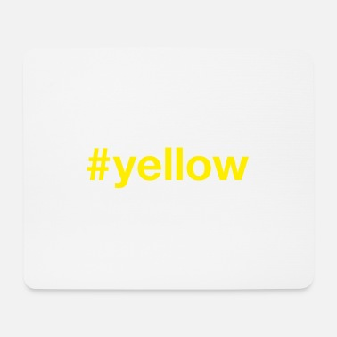 Yellow YELLOW - Mouse Pad