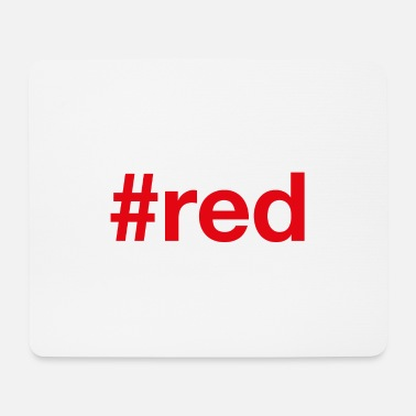 Red RED - Mouse Pad