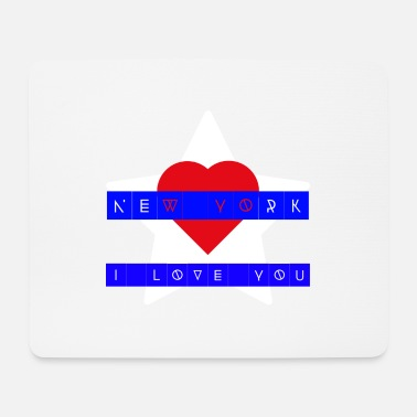 NEW YORK - I LOVE YOU - Mouse Pad