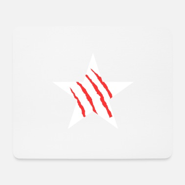 Scratch scratch white - Mousepad
