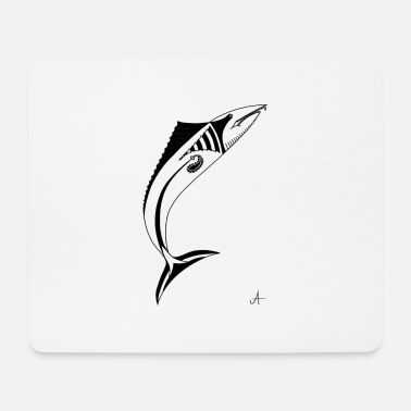 Predatory Fish No. 13 - predatory fish - Mouse Pad