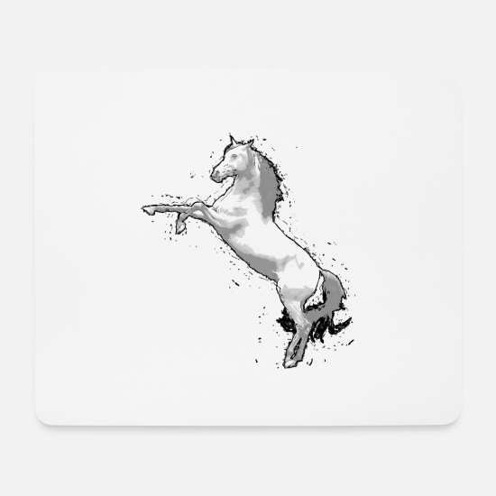 Horse Mouse Pads - horse - Mouse Pad white