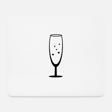 Champagne Champagne glass of champagne - Mouse Pad