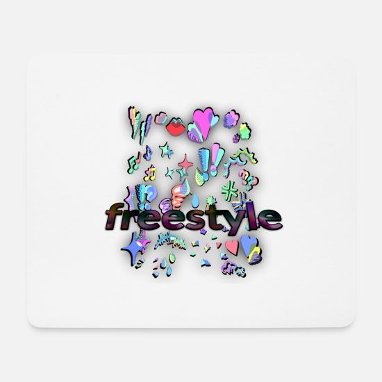 Freestyle Mouse Pads - freestyle - Mouse Pad white