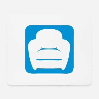 Armchair Armchair chair icon 2402 - Mouse Pad