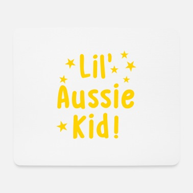 Aussie Rules lil aussie kid! for a child - Mouse Pad