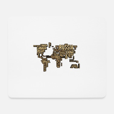 Continent continent - Mouse Pad