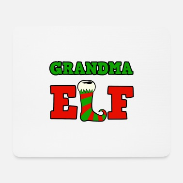 Grand Parents Christmas gnome for the family - Grandma Elf - Mouse Pad