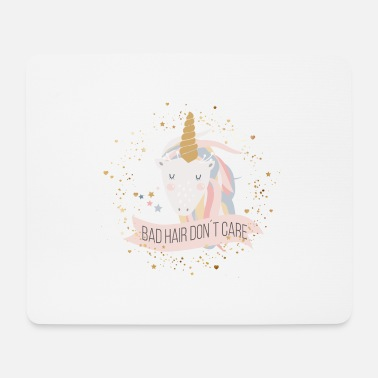 Sprüche (bad_hair_dont_care) - Mousepad