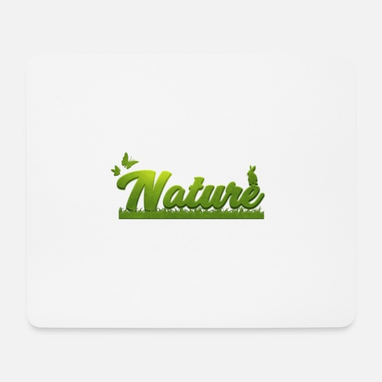 Nature Mouse Pads - Nature - Mouse Pad white